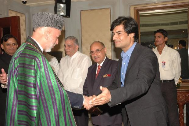 Samir and President Karzai
