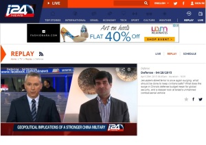 Interview to i24
