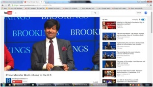 Brookings and Mr. Samir Saran