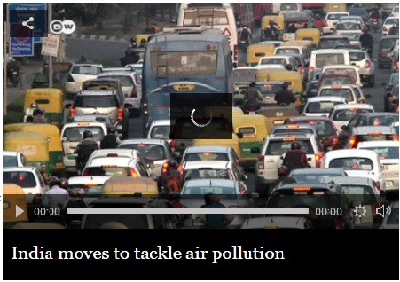 India moves to tackle Air Pollution